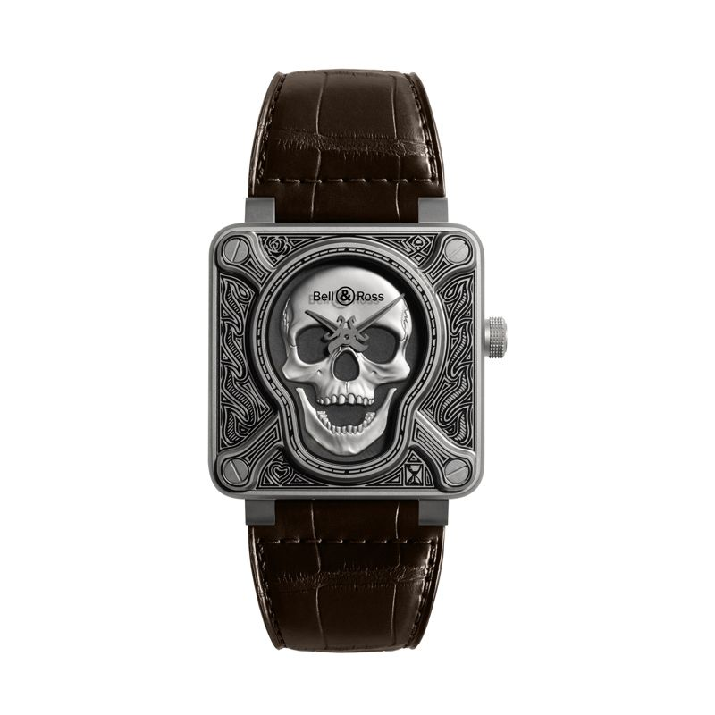 BR0192-Skull-Burn | Buy Bell & Ross BR 01-92 Burning Skull online  | Buy watch
