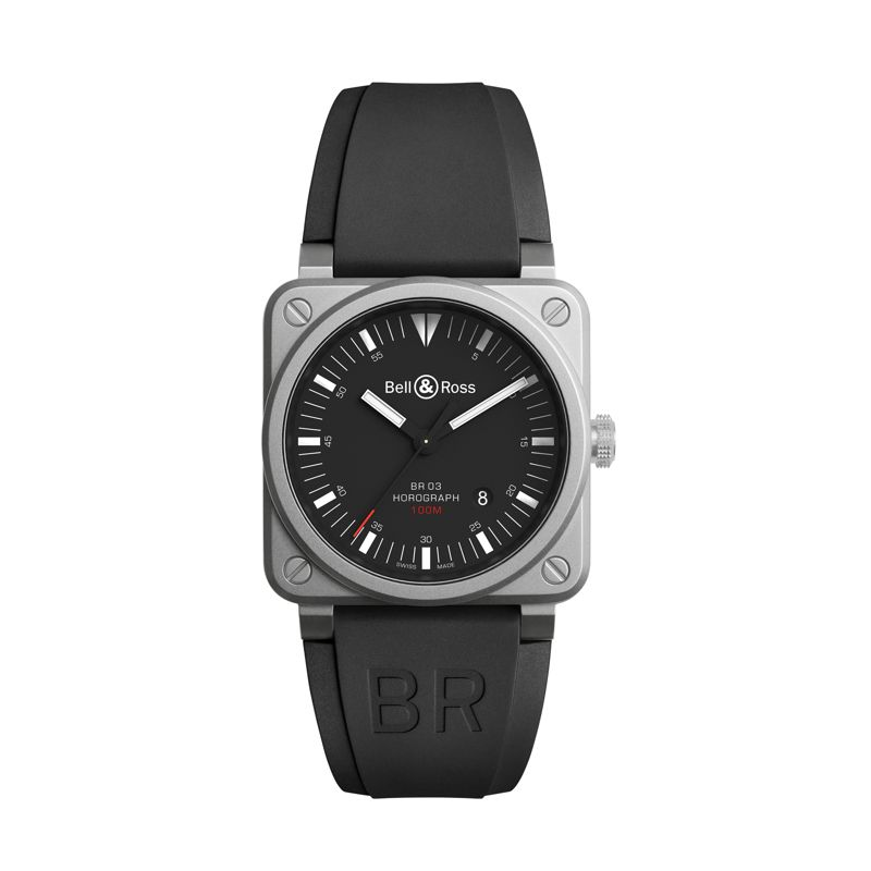 BR0392-HOR-BLC SRB | Buy Bell & Ross BR03-92 Horograph online  | Buy watch