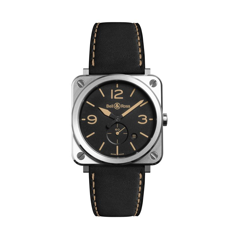 BRS-HERI-ST SCA | Buy Bell & Ross BR S Steel Heritage online  | Buy watch