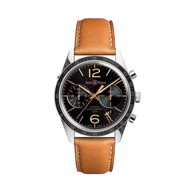 BRV126FLY-GMT | Buy Bell & Ross BR126 Sport Heritage GMT & Flyback online