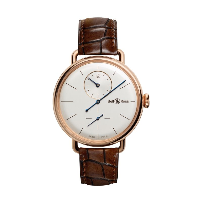 BRWW1REG-PG SCR | Buy Bell & Ross WW1 Régulateur Rose Gold online  | Buy watch