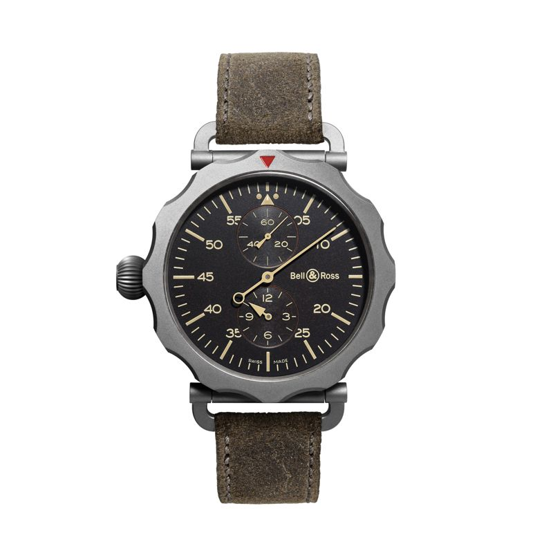 BRWW2-REG-HER SCA | Buy Bell & Ross WW2 Régulateur Heritage online  | Buy watch