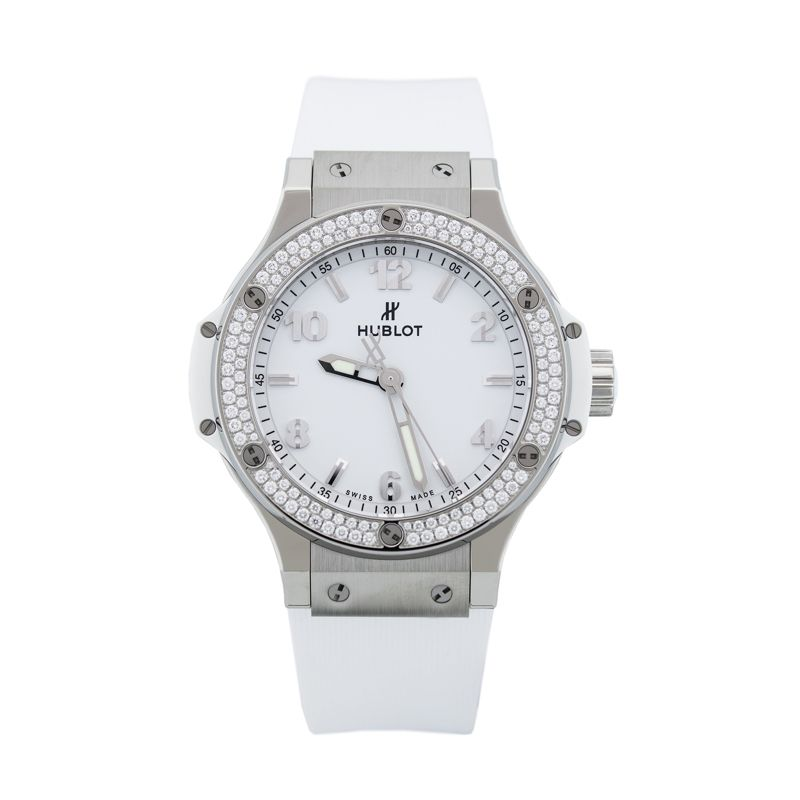 361.SE.2010.RW.1104 | Hublot Big Bang Steel White Diamonds - Hublot - Buy watch online