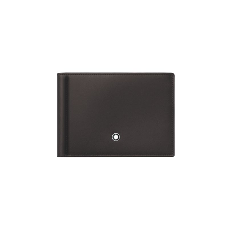 Montblanc Meisterstück Collection Wallet 6 cc with Money Clip