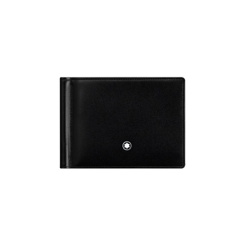 5525 | Buy Montblanc Meisterstück Collection Wallet 6 cc with Money Clip online