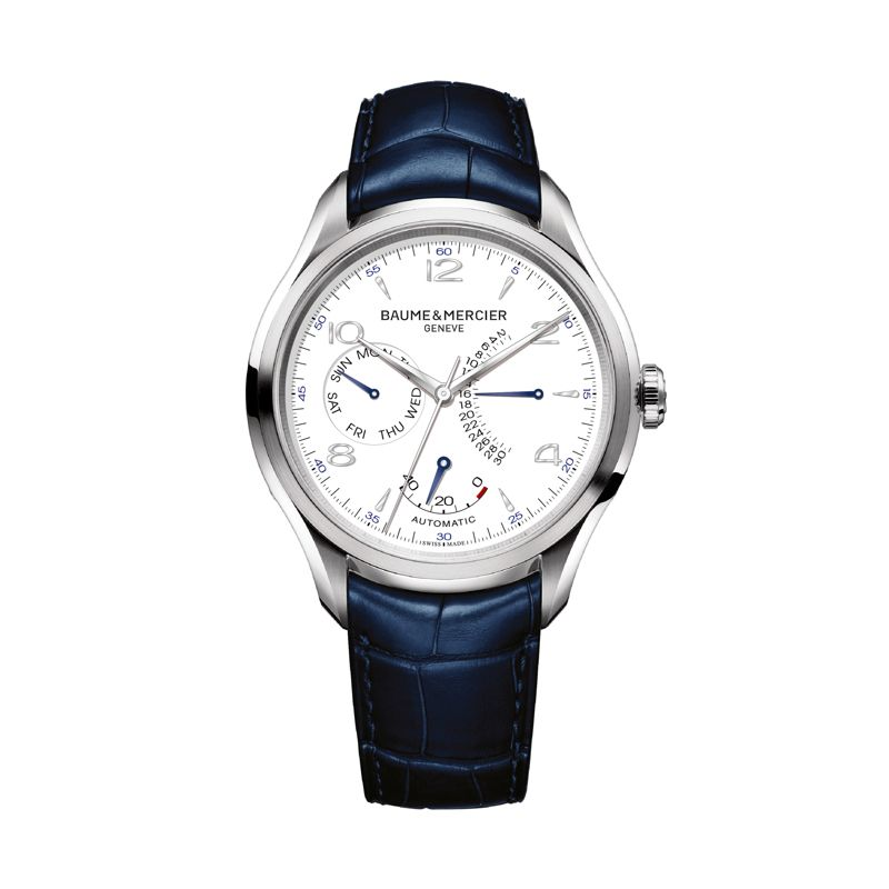 Baume & Mercier Clifton Automatic Small Complications Retrograde date, day & Power Reserve