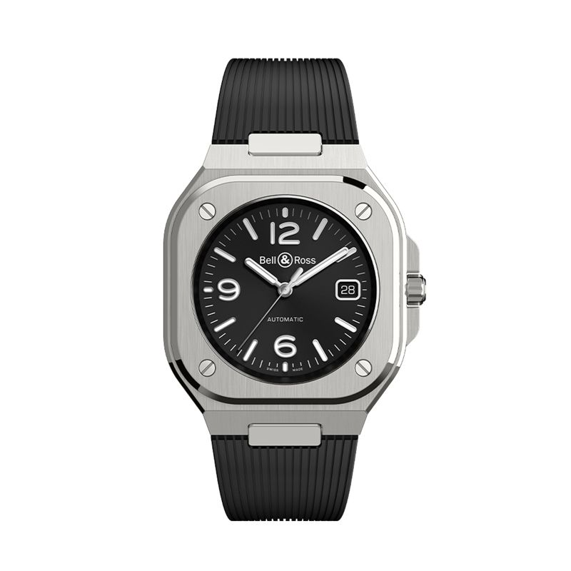 BR 05 Black Steel - BR 05 - Bell & Ross  - Watches - Webshop