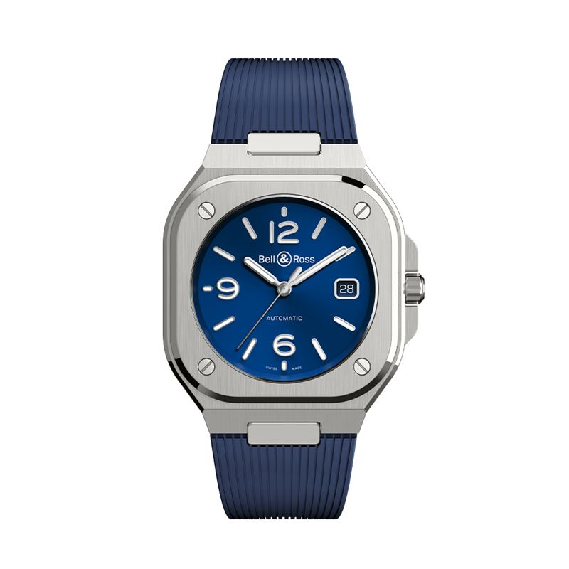 BR 05 Blue Steel - BR 05 - Bell & Ross  - Watches - Webshop