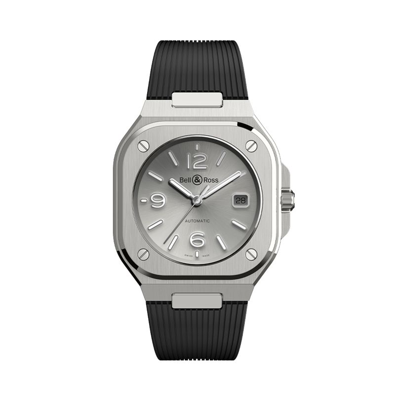 BR 05 Grey Steel - BR 05 - Bell & Ross  - Watches - Webshop