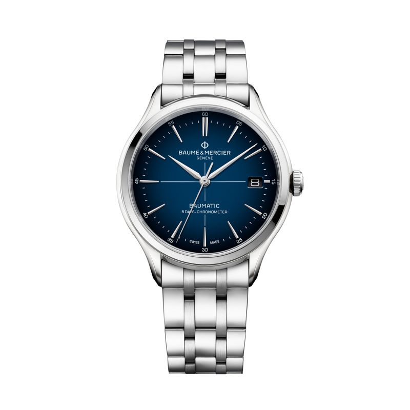 MOA10468 | Baume & Mercier Clifton Baumatic COSC - Clifton - Webshop