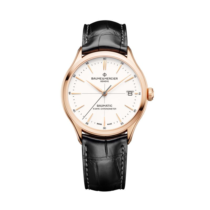 MOA10469 | Baume & Mercier Clifton Baumatic COSC - Clifton - Webshop