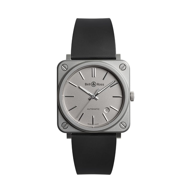 BRS92-GR-ST-SRB | Bell & Ross BR S-92 Mat Grey - Bell & Ross  - Watches - Webshop