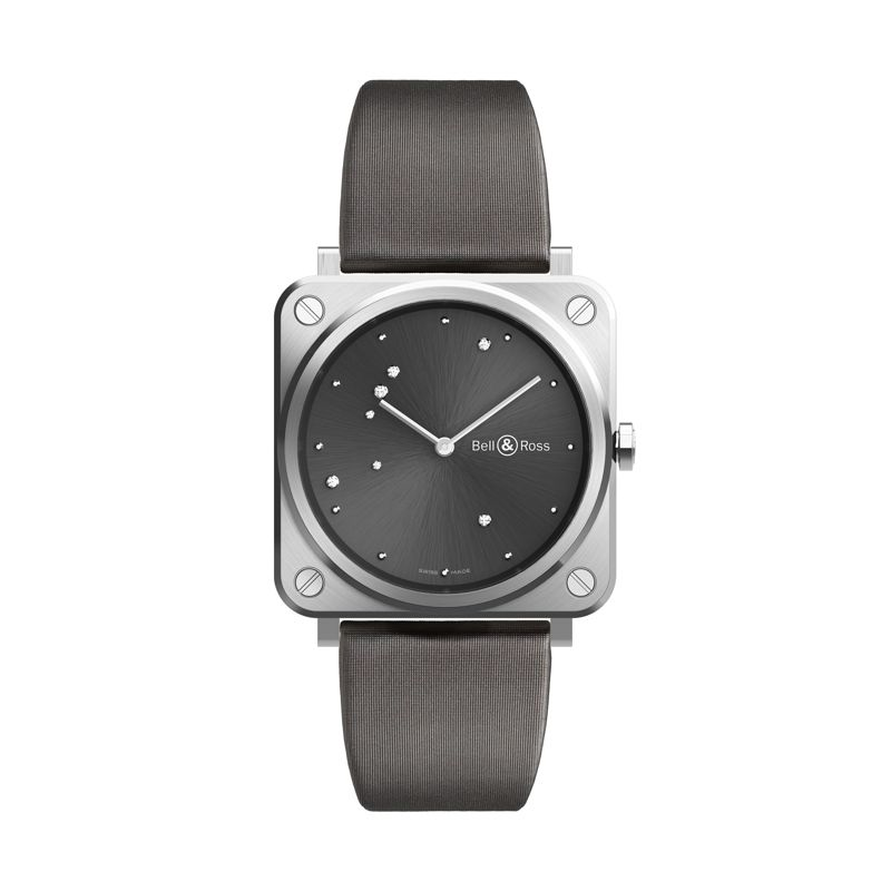 BRS-ERU-ST-SST | Bell & Ross BR S Grey Diamond Eagle - Webshop