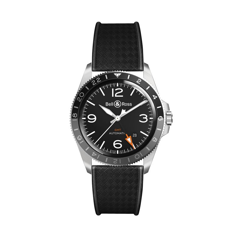 BRV293-BL-ST SRB | Bell & Ross BR V2-93 GMT 24 - Bell & Ross  - Watches - Webshop