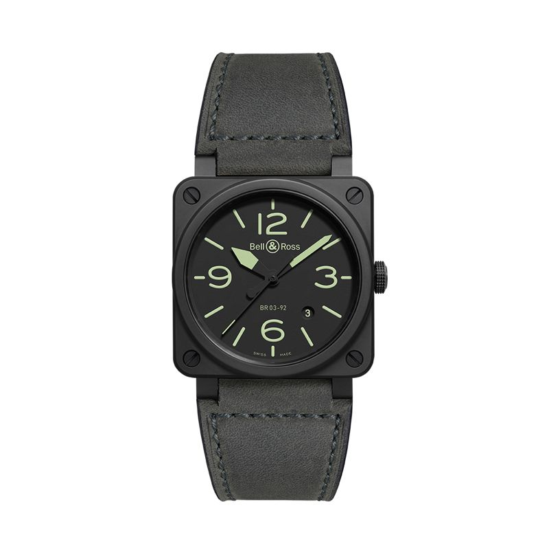 BR0392-BL3-CE-SCA | Bell&Ross BR03-92 Auto Nightlum Ceramic - Bell & Ross  - Webshop
