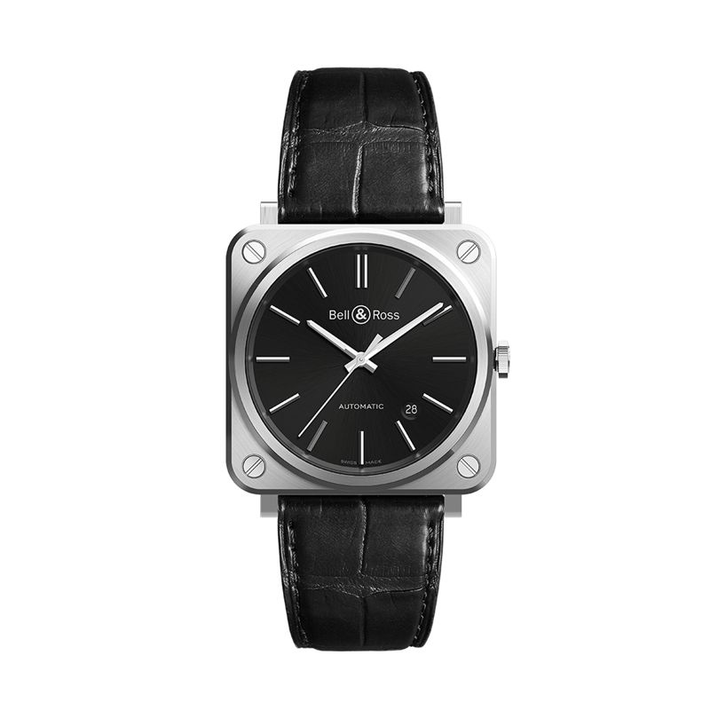 BRS92-BLC-ST-SCR | Buy Bell & Ross BR S-92 Black Steel - Bell & Ross   | Buy watch