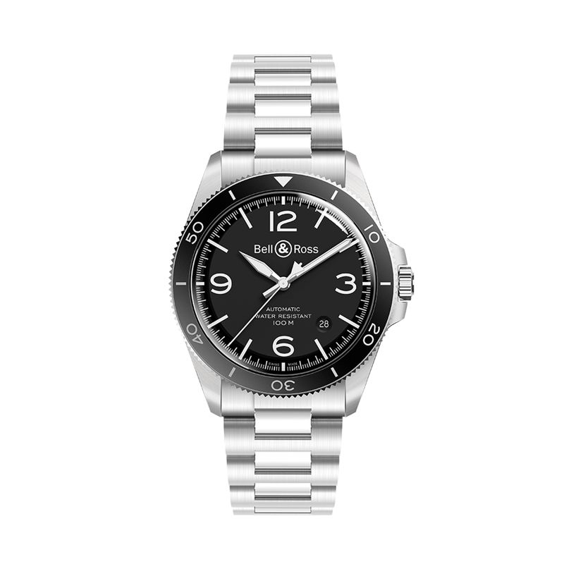 BRV292-BL-ST-SST | Bell & Ross BR V2-92 Black Steel  | Buy watch