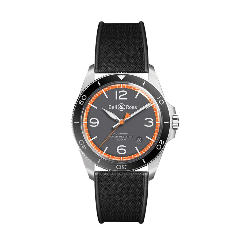 BRV292-ORA-ST-SRB | Bell & Ross BR V2-92 Garde-Côtes  | Buy watch