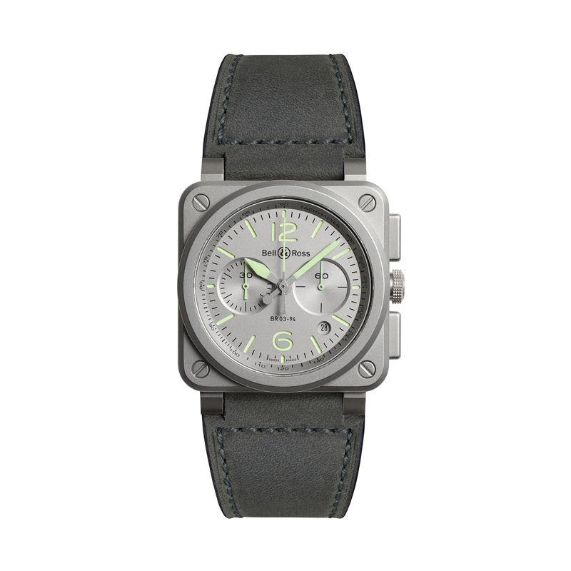 BR0394-GR-ST-SCA | Bell&Ross BR03-94 Horolum - Bell & Ross  - Watches - Webshop
