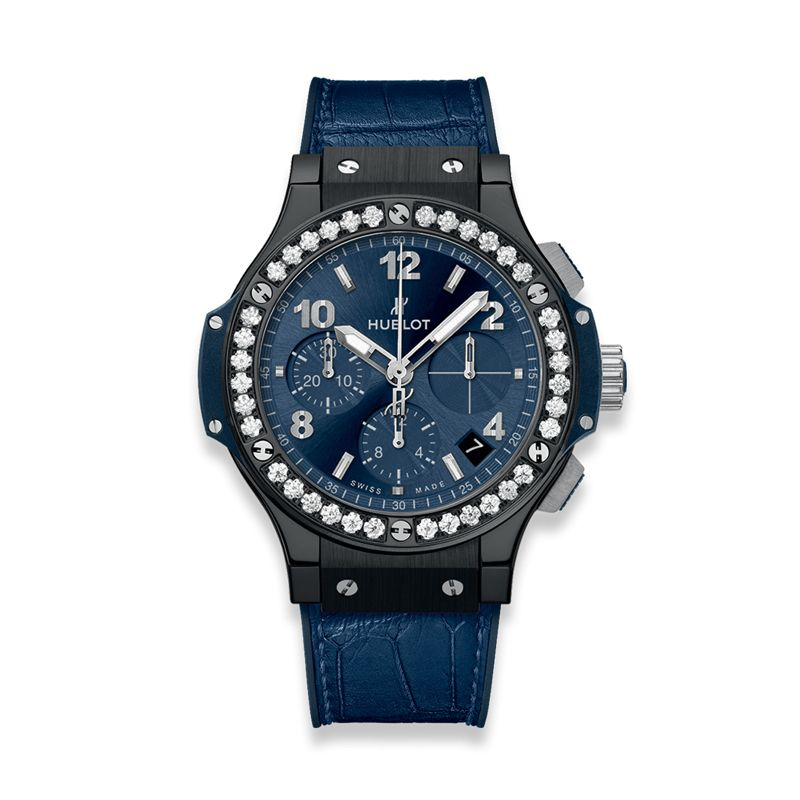 341.CM.7170.LR.1204 | Hublot Big Bang Ceramic Blue Diamonds - Hublot - Webshop