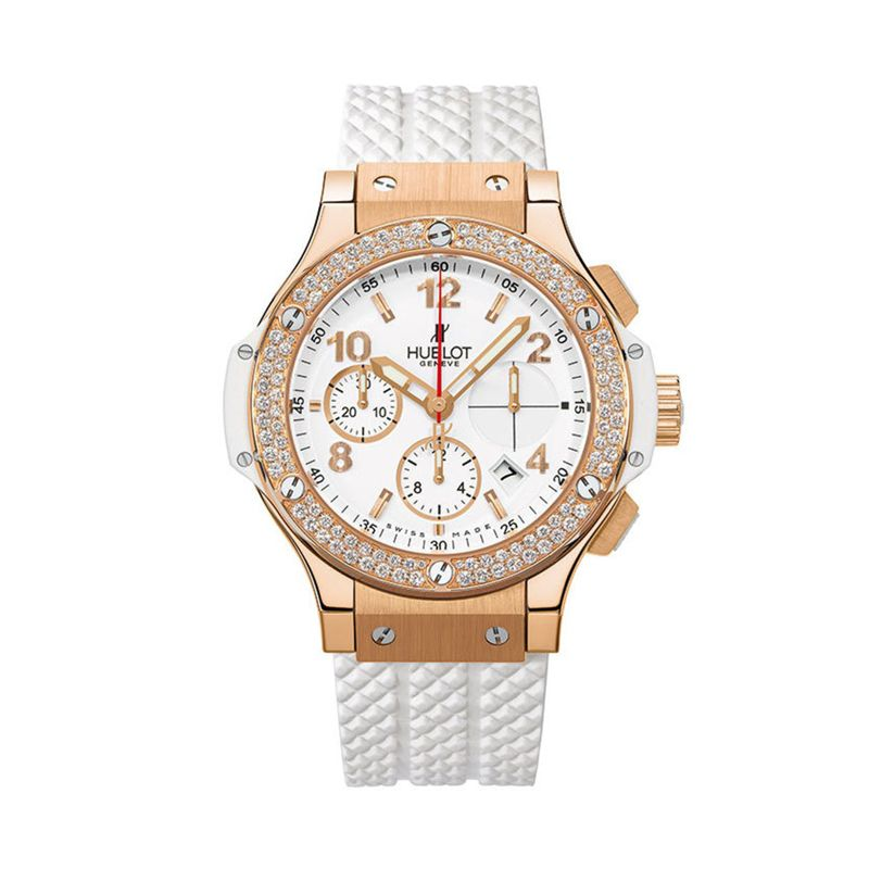 341PE.230.RW.114 | Hublot Big Bang Gold White Diamonds - Hublot - Watches - Webshop