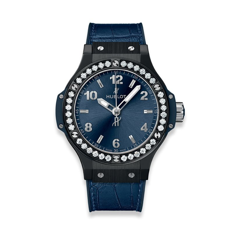 361.CM.7170.LR.1204 | Hublot Big Bang Ceramic Blue Diamonds - Hublot - Webshop