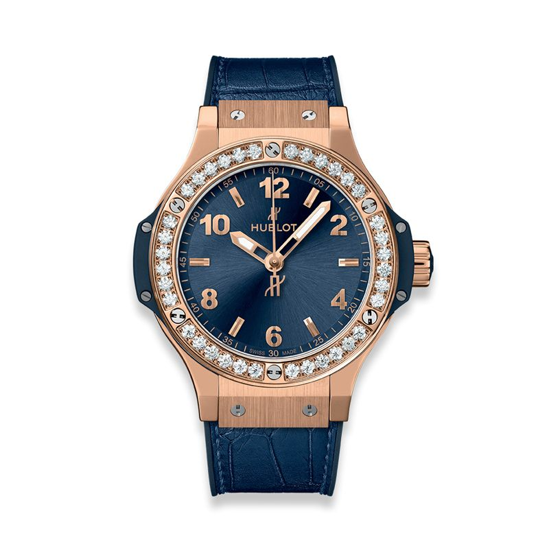 361.PX.7180.LR.1204 | Hublot Big Bang Gold Blue Diamonds - Hublot - Watches - Webshop