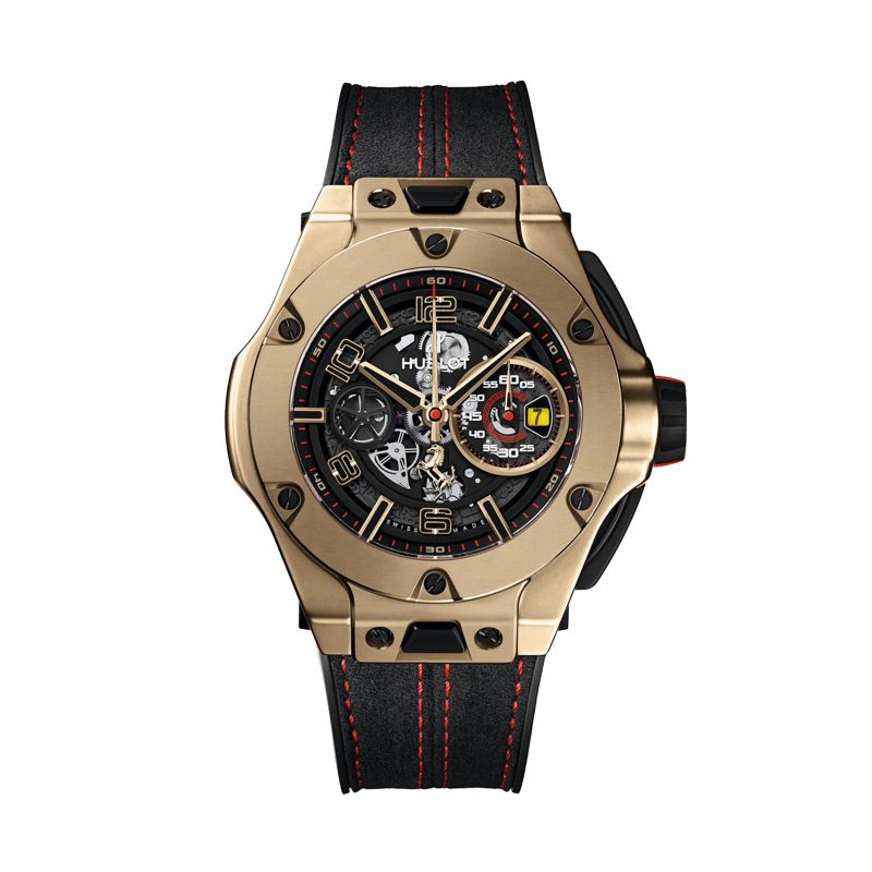 Hublot Big Bang Ferrari Chronograph Unico Magic Gold