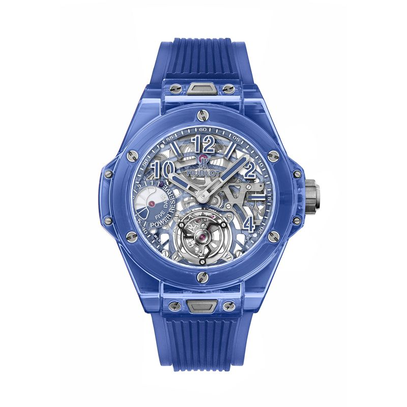 Hublot Big Bang Tourbillon Power Reserve 5 Days Blue Sapphire - Webshop