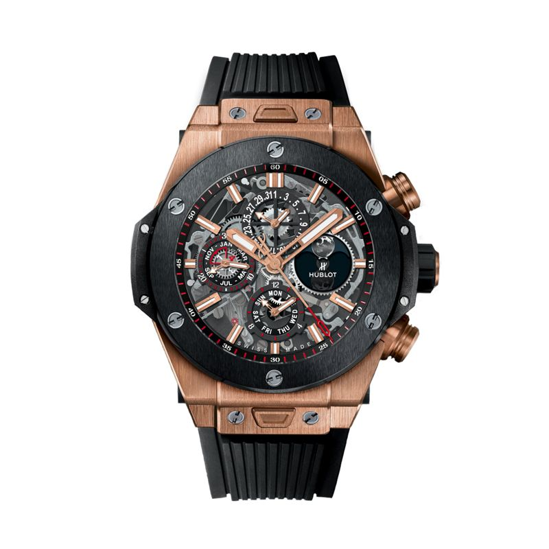 Hublot Big Bang Unico Chronograph Perpetual Calendar King Gold Ceramic