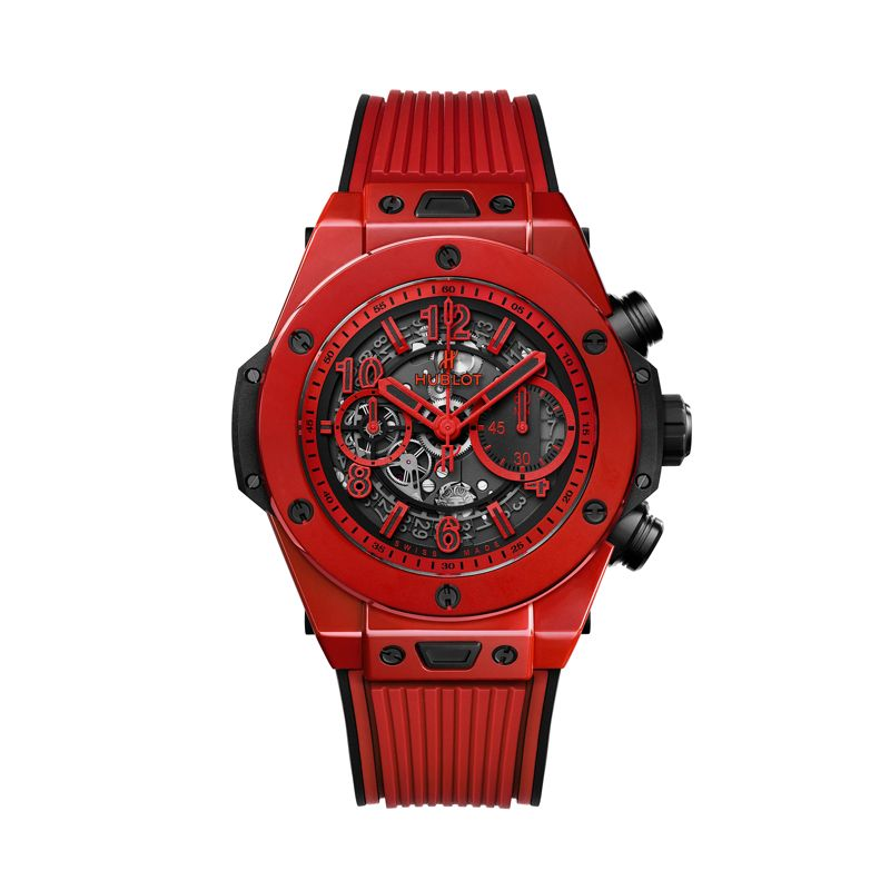 Hublot Big Bang Unico Red Magic - Hublot - Uurwerken - Webshop