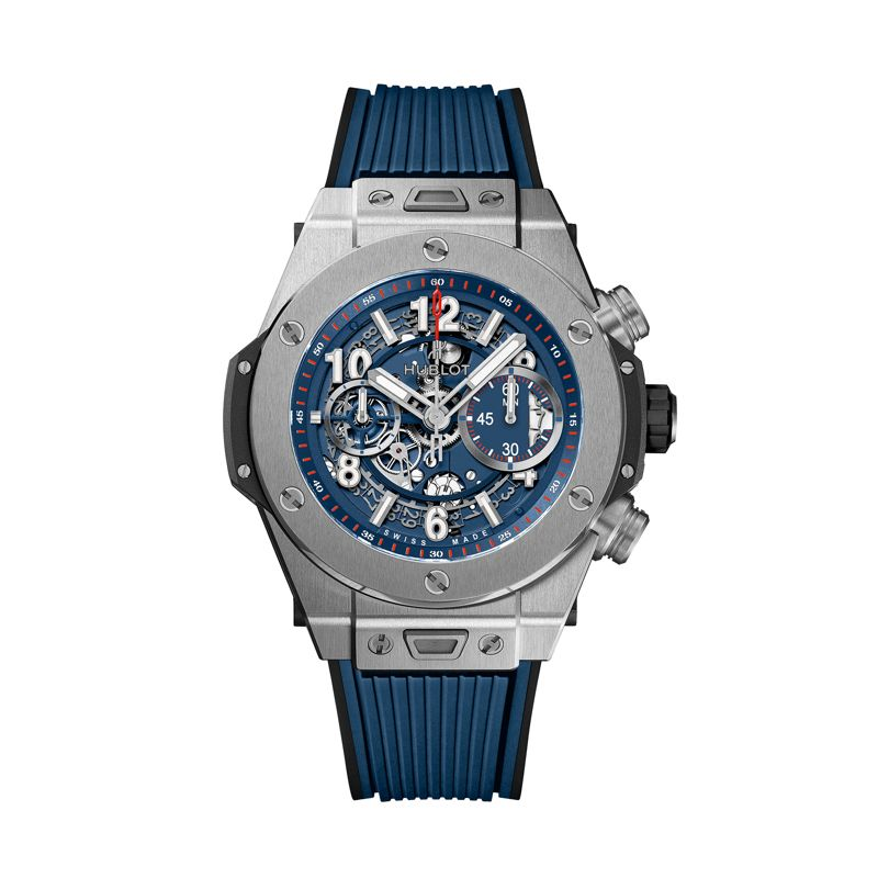 Hublot Big Bang Unico Titanium Blue