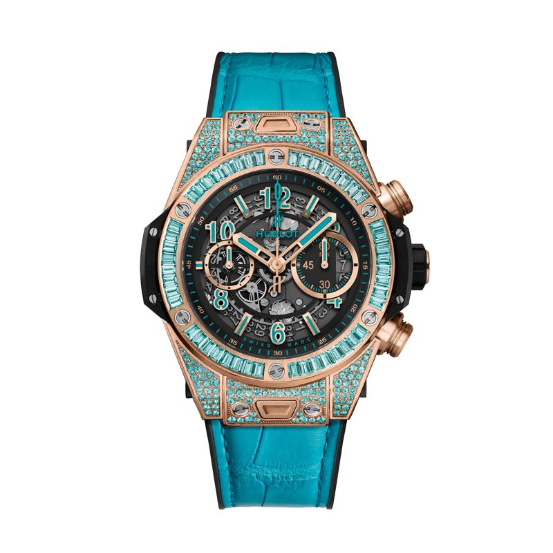 411.OX.1189.LR.0919 | Hublot Big Bang Unico King Gold Paraiba -