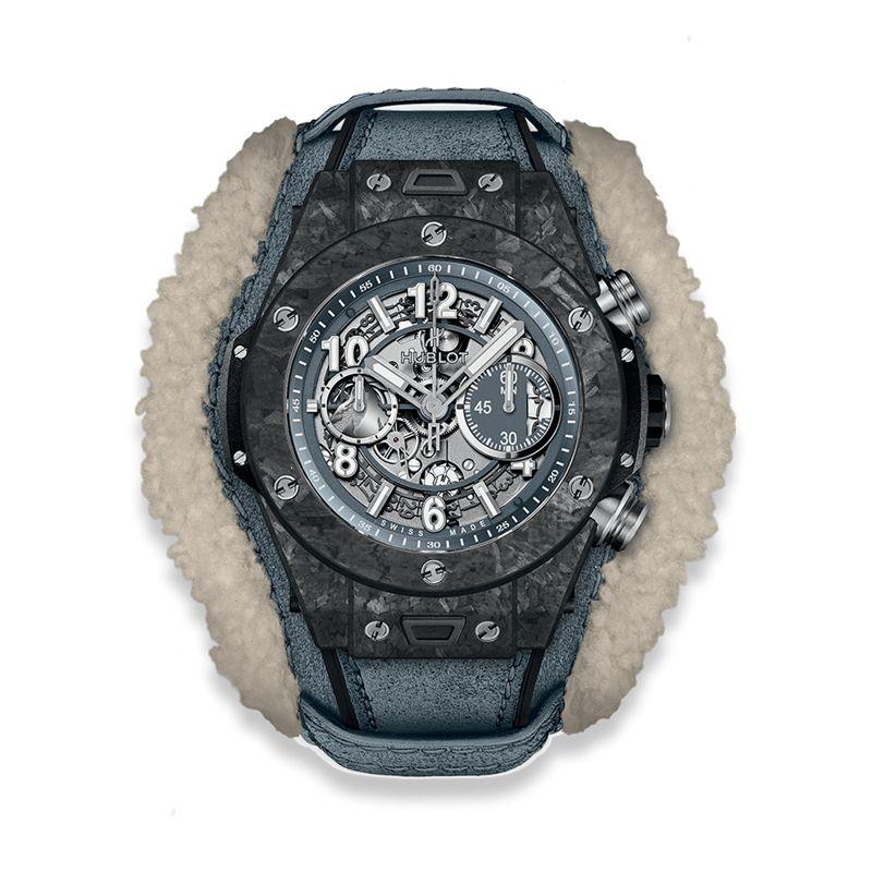 Hublot Big Bang Alps Unico Frosted Carbon - Watches - Webshop