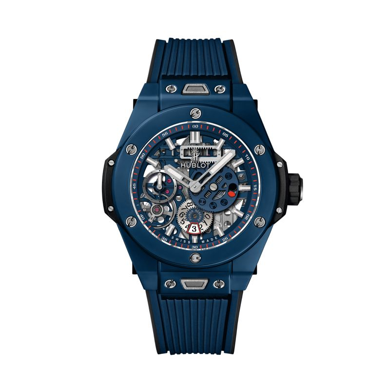414.EX.5123.RX | Hublot Big Bang Meca 10 Blue Ceramic - Webshop
