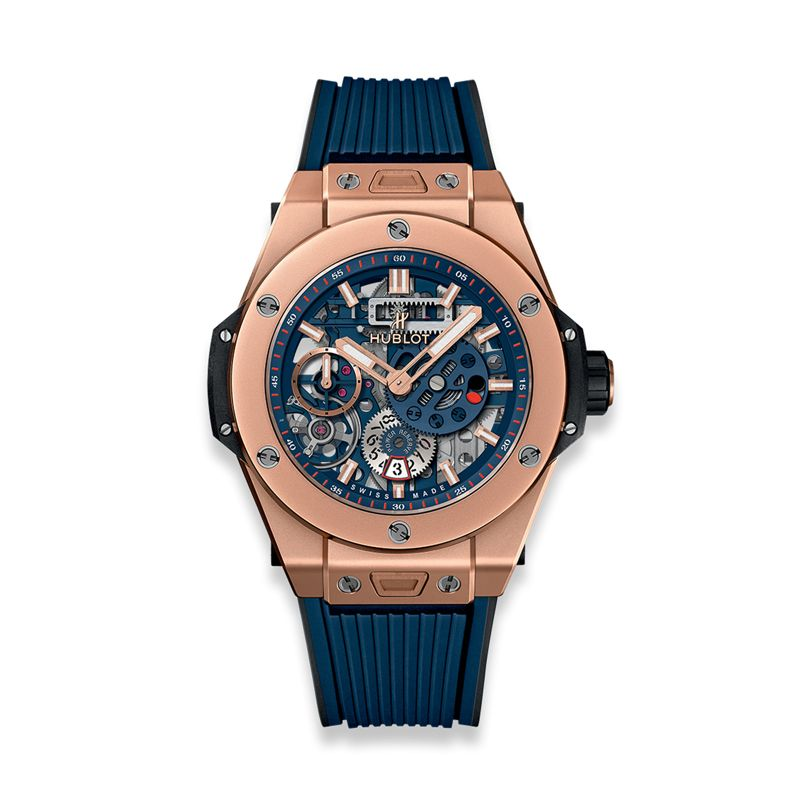 Hublot Big Bang Meca 10 King Gold Blue