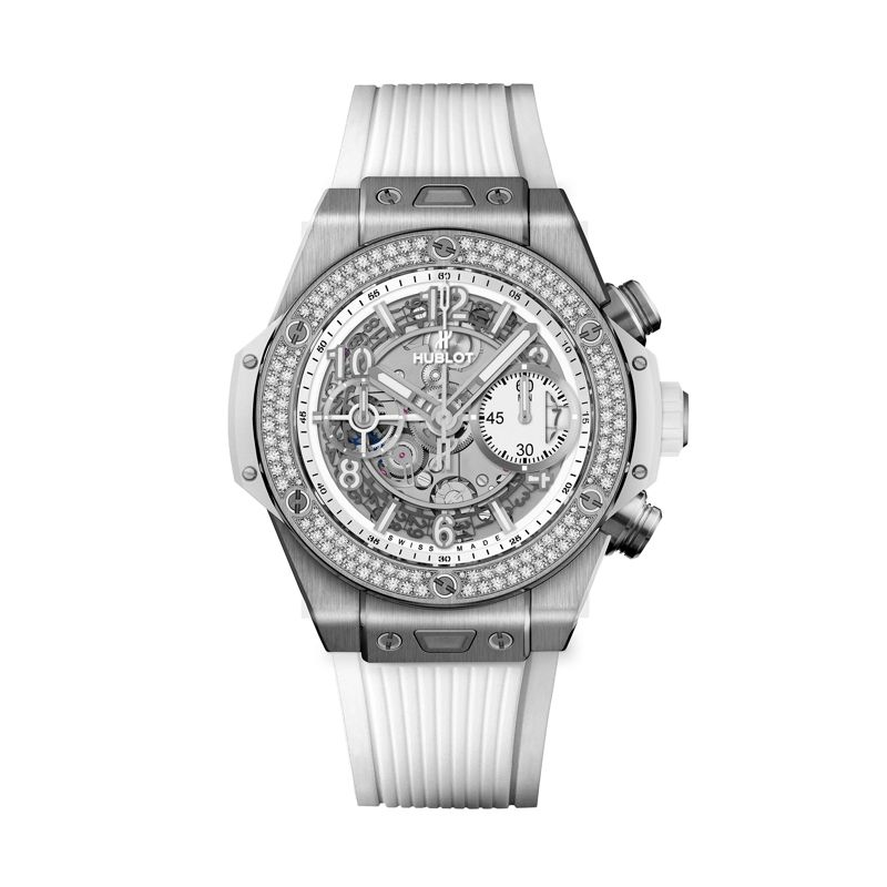 441.NE.2010.RW.1104 | Hublot Big Bang Unico Titanium White Diamonds - Hublot - Webshop