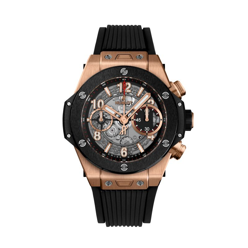 Hublot Big Bang Unico King Gold Ceramic 42m - Hublot - Webshop