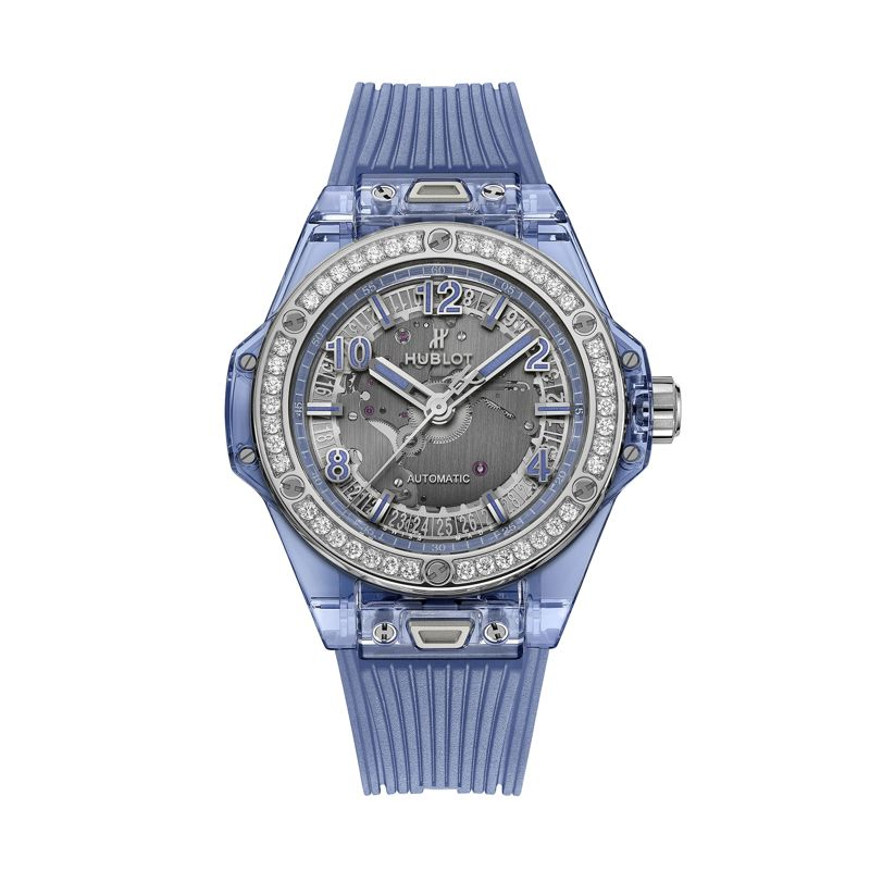 Hublot Big Bang One Click Blue Sapphire - Watches - Webshop