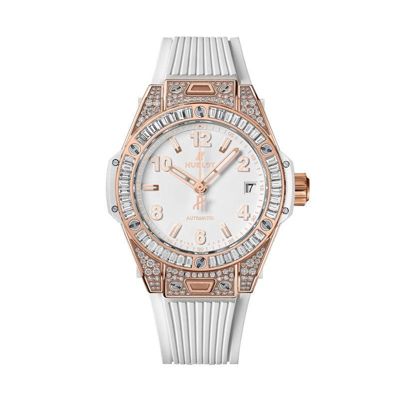 Hublot Big Bang One Click King Gold White Jewellery - Webshop