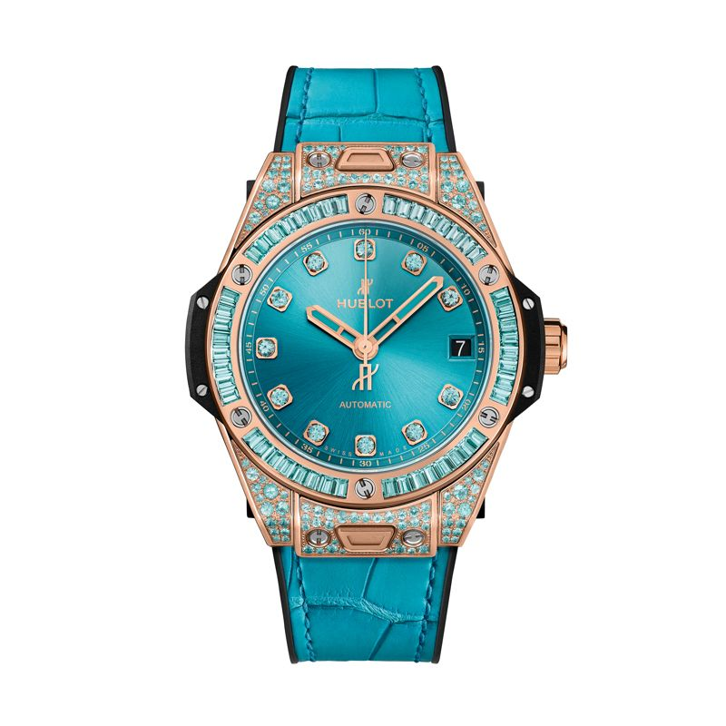 465.OX.898T.LR.0919 | Hublot Big Bang One Click King Gold Paraiba