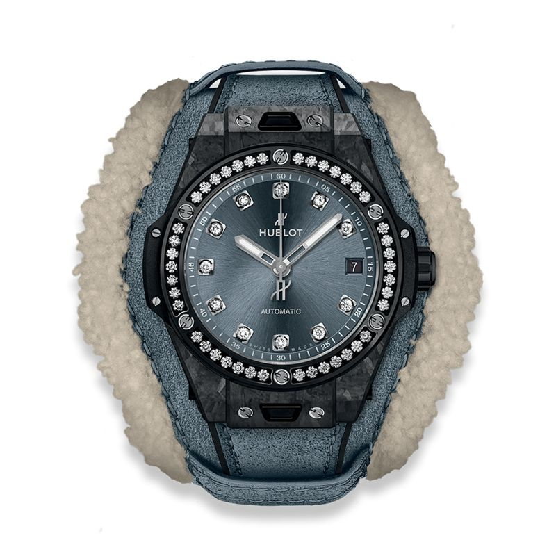 Hublot Big Bang Alps One Click Frosted Carbon Diamonds - Webshop
