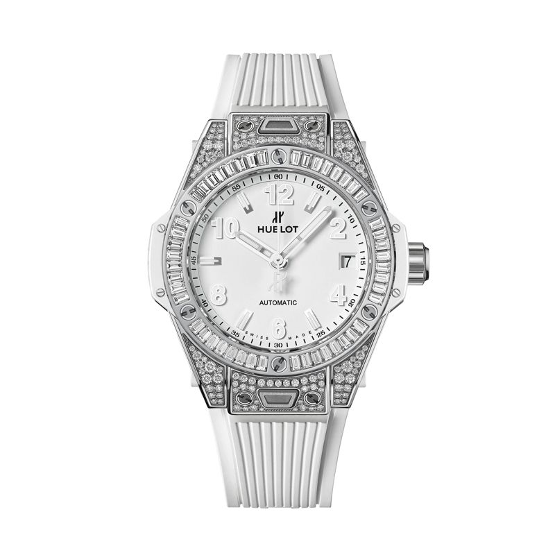 Hublot Big Bang One Click Steel White Jewellery - Webshop