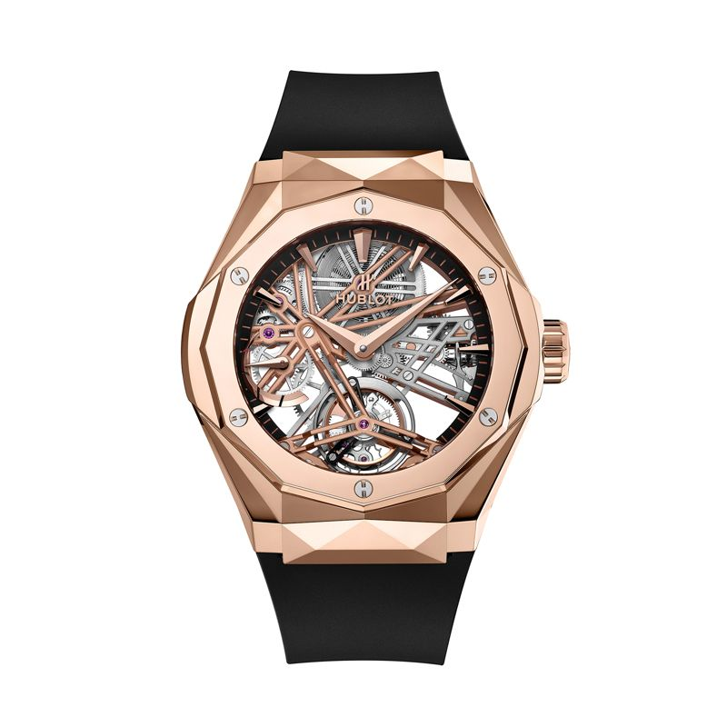 505.OX.1180.RX.ORL19 | Hublot Classic Fusion Tourbillon 5-Day Power Reserve Orlinski King Gold - Webshop