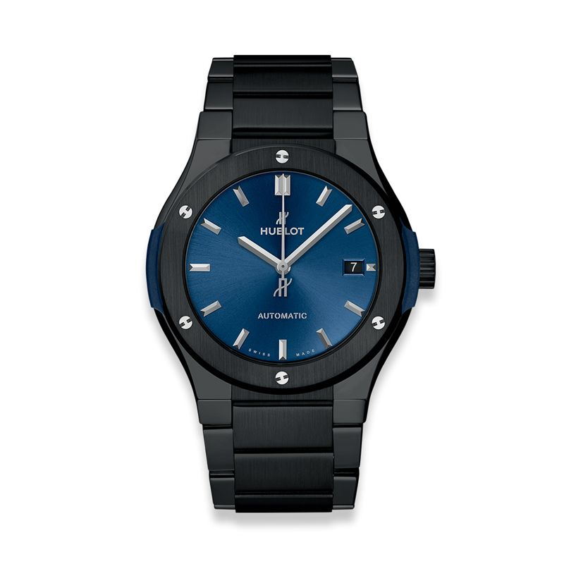 Hublot Classic Fusion Ceramic Integrated Bracelet Blue - Webshop