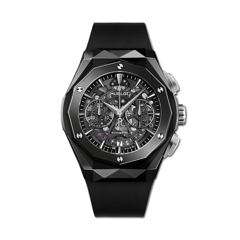 525.CS.0170.RX.ORL19 | Hublot Classic Fusion Aerofusion Chronograph Orlinski Black Magic - Webshop