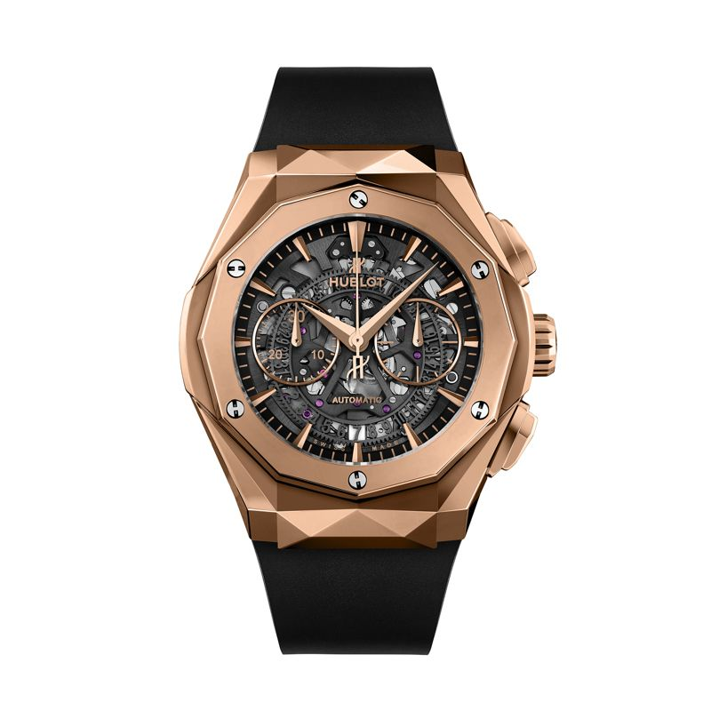 525.OX.0180.RX.ORL18 | Hublot Classic Fusion Aerofusion Chronograph Orlinski King Gold - Webshop
