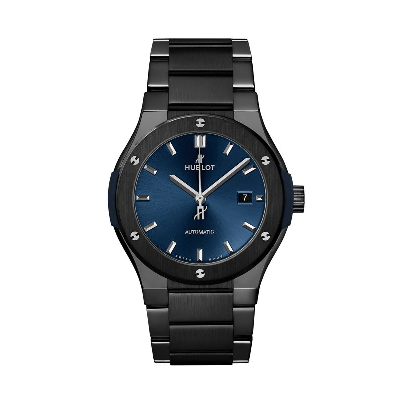 Hublot Classic Fusion Ceramic Integrated Bracelet Blue