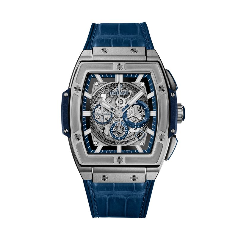 Hublot Spirit of Big Bang Titanium Blue - Hublot - Webshop