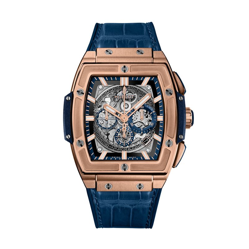 Hublot Spirit of Big Bang King Gold Blue - Hublot - Webshop